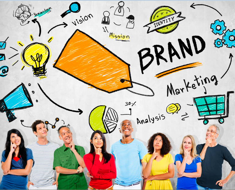 """featured image of the blog titled """"Stand Out From The Rest: The Power of Branding and Logos"""""""