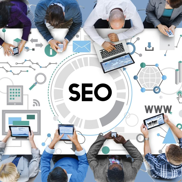 """featured image of the blog titled """"Tips to Building a Better Online Presence using SEO"""